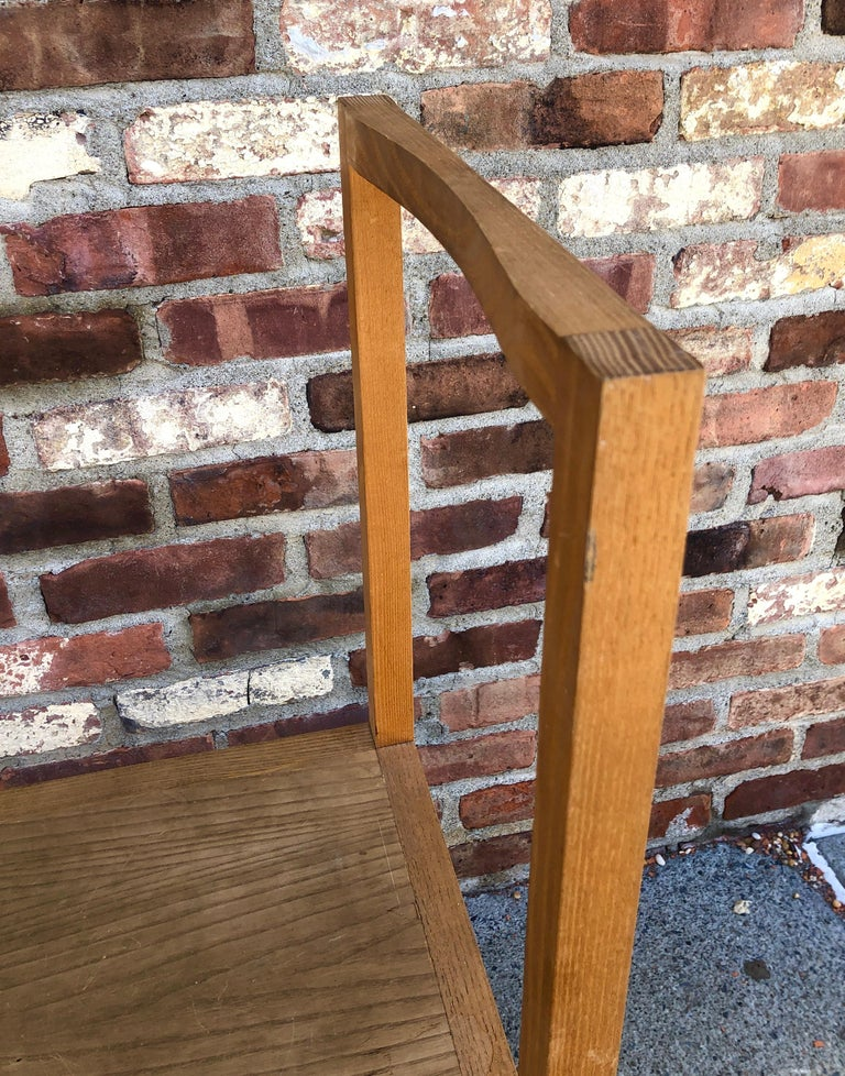 Minimalist Side Chair in the Manner of Donald Judd For Sale 1
