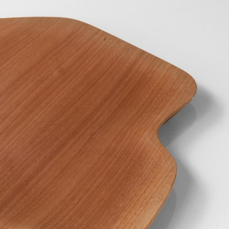 Contemporary Minimalist Square Dining Table in Brazilian Hardwood  For Sale