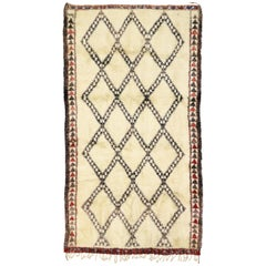 Minimalist Style Beni M'Guild Moroccan Rug