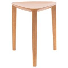 Minimalist Style, Stool in Natural Solid Wood