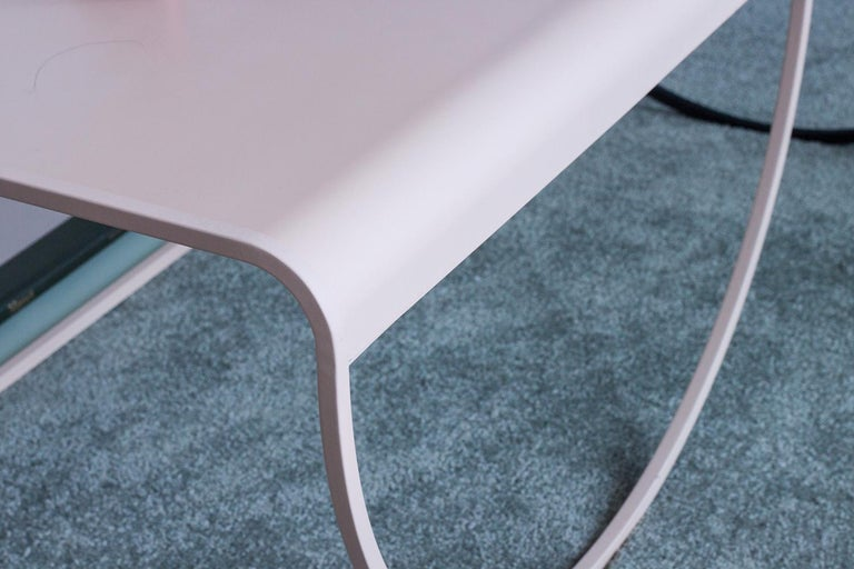 American Minimalist SW Coffee Table in Powder-Coated Steel by Soft-Geometry For Sale