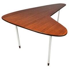 Mid Century Modern Boomerang Coffee Table in Teak after Finn Juhl