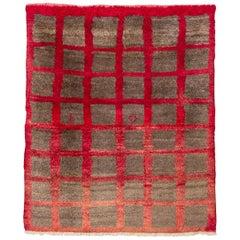 Minimalist Vintage Tulu Rug, Turkey
