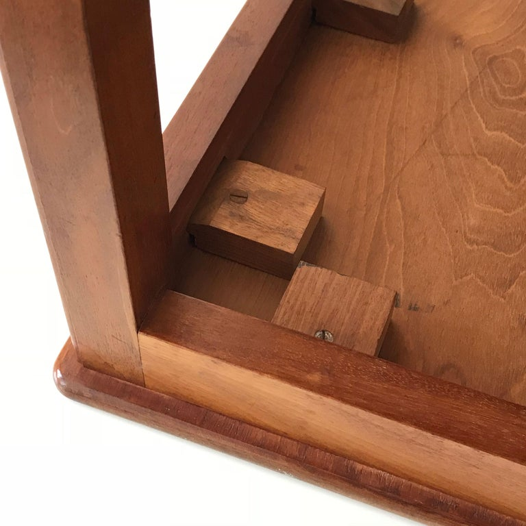 Minimalistic Coffee Table by Kaare Klint for Rud Rasmussen, Denmark, 1934 For Sale 4
