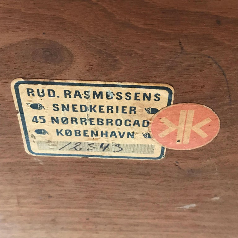 Minimalistic Coffee Table by Kaare Klint for Rud Rasmussen, Denmark, 1934 For Sale 5