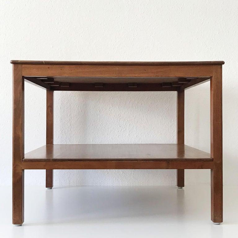 Bauhaus Minimalistic Coffee Table by Kaare Klint for Rud Rasmussen, Denmark, 1934 For Sale