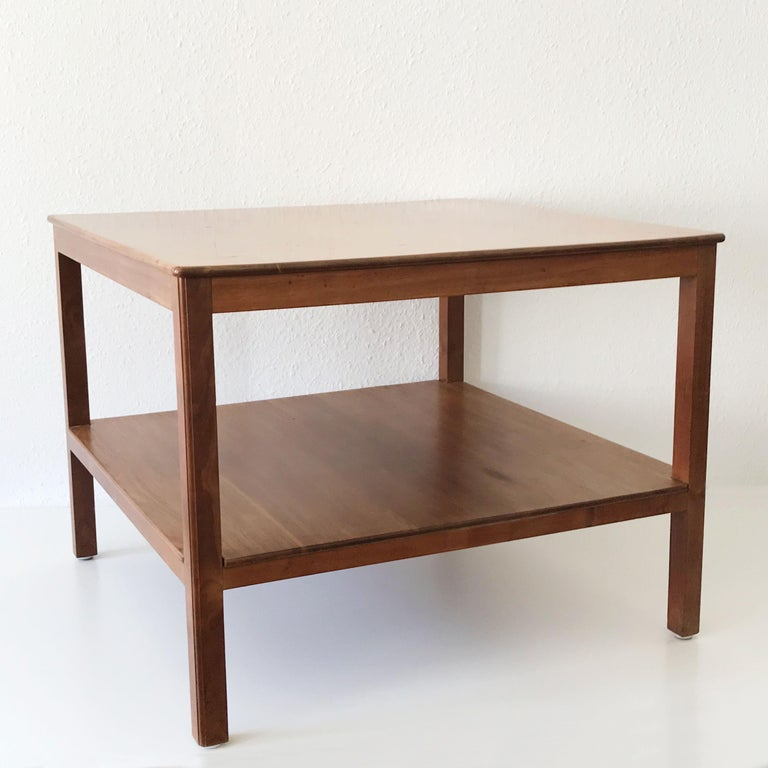 Minimalistic Coffee Table by Kaare Klint for Rud Rasmussen, Denmark, 1934 In Good Condition For Sale In Munich, DE