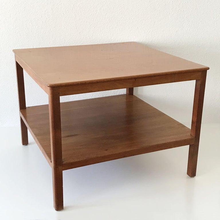 Mid-20th Century Minimalistic Coffee Table by Kaare Klint for Rud Rasmussen, Denmark, 1934 For Sale