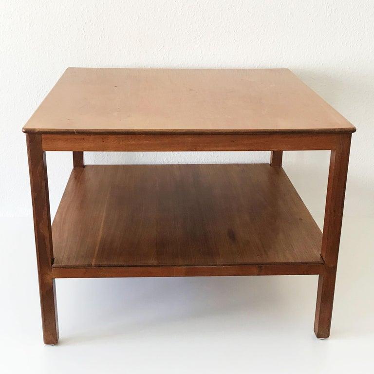 Mahogany Minimalistic Coffee Table by Kaare Klint for Rud Rasmussen, Denmark, 1934 For Sale