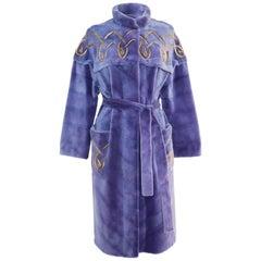 Helen Yarmak Mink Coat