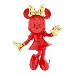 Minnie bi-color figurine, Made in France