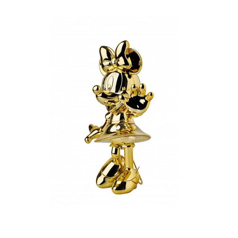 Ultra-design Minnie, metallic figurine  Measures: Height 30 cm (11.8