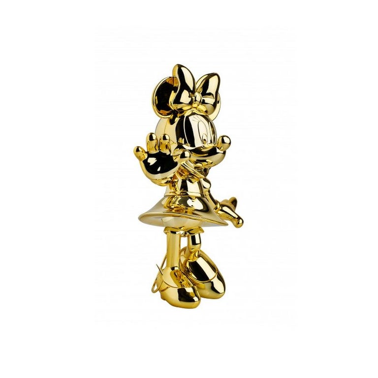 French Minnie metallic figurine, made in France For Sale