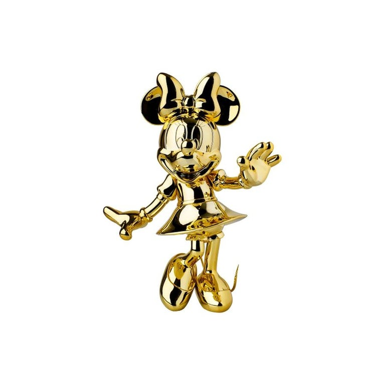Minnie metallic figurine, made in France For Sale