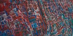 'Awelye Atnwengerrp' Australian Aboriginal Art by Minnie Pwerle