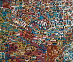 'Awelye' Australian Aboriginal Art by Minnie Pwerle