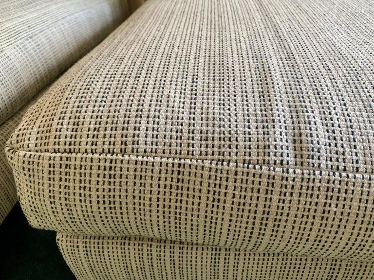 Minotti Labelled Two-Piece Deep Sofa For Sale 4