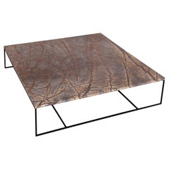 Minotti Marble and Steel Coffee Table by Rodolfo Dordoni