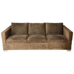 Minotti Three-Seat Sleeper Sofa