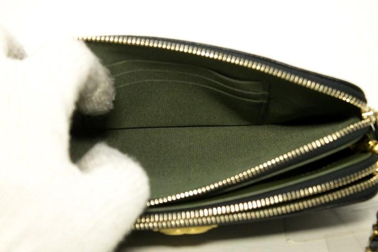 3cd395a25e07 CHANEL Boy Black Caviar WOC Wallet On Chain Zip Shoulder Bag For Sale 16