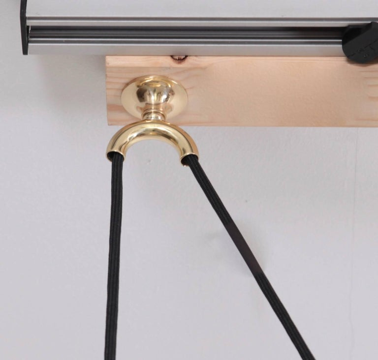 Mint Florian Schulz Onos Polished Brass with Side Counterweight For Sale 2