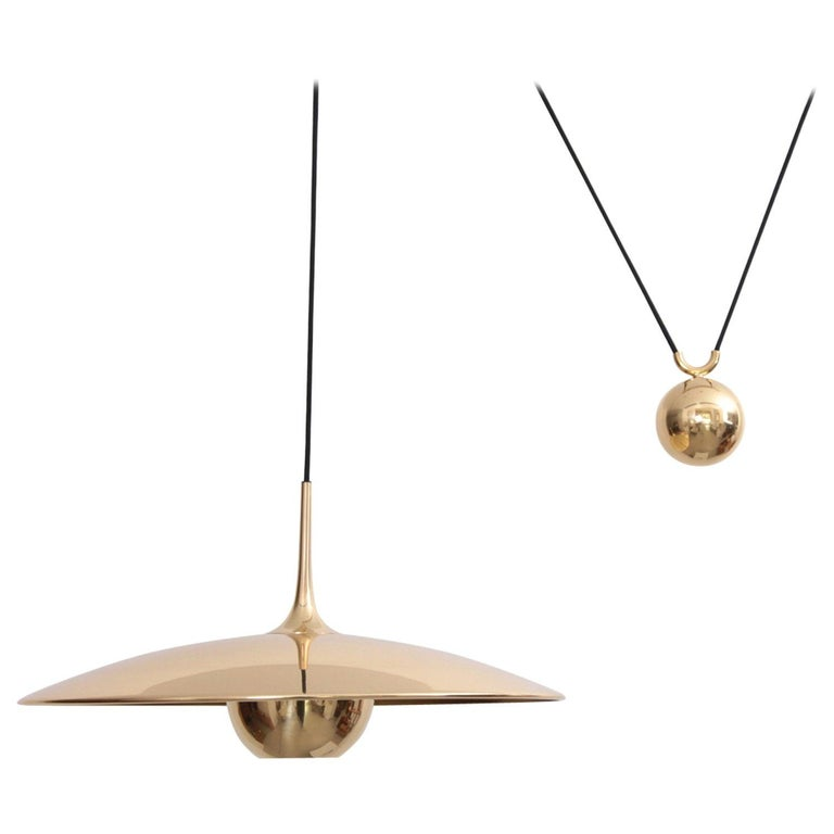 Mint Florian Schulz Onos Polished Brass with Side Counterweight For Sale