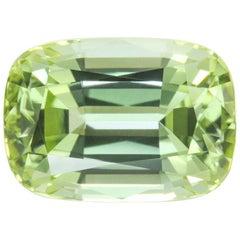 Green Tourmaline Ring Gem 5.10 Carat