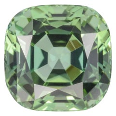 Green Tourmaline Ring Gem 5.27 Carat