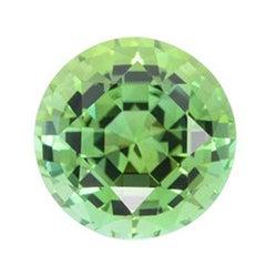 Mint Green Tourmaline Ring Gem 5.00 Carat Round Loose Unset Gemstone