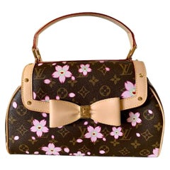 Mint Louis Vuitton Takashi Murakami Limited Edition Retro Cherry Blossom Purse