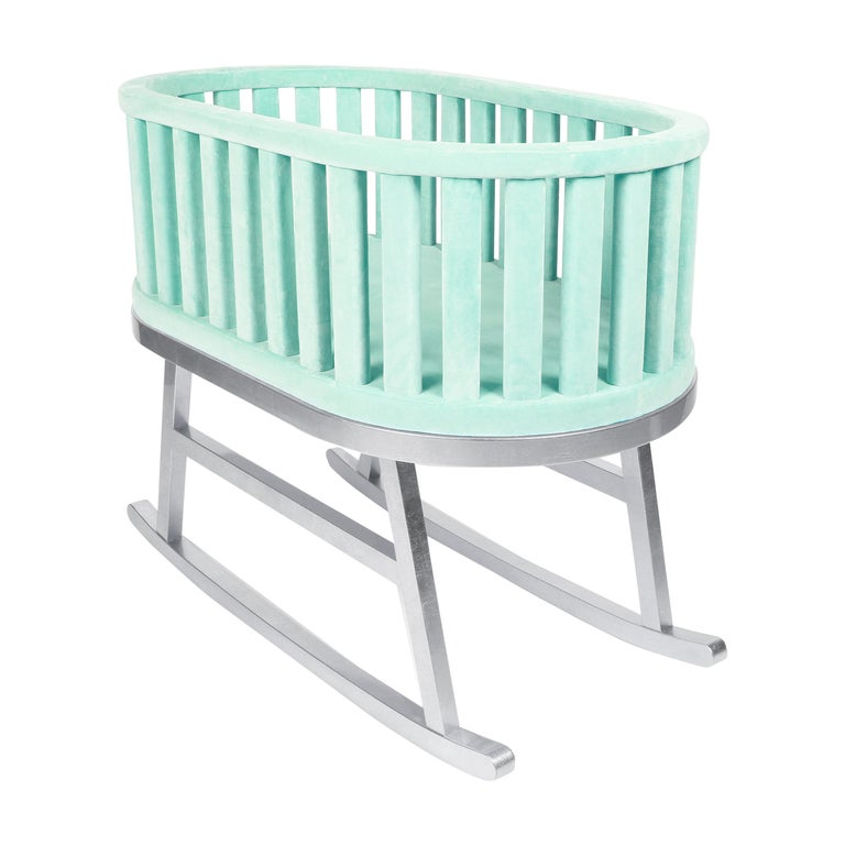 Mint Velvet Green Cradle by Royal Stranger For Sale
