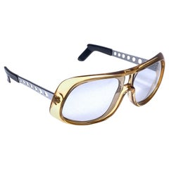Mint Vintage Carrera Aviator 549 Elvis Oversized Sunglasses Austria 1970