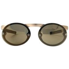 Mint Vintage Porsche Design 5694 40 Gold Matte Magnetic Sunglasses Austria