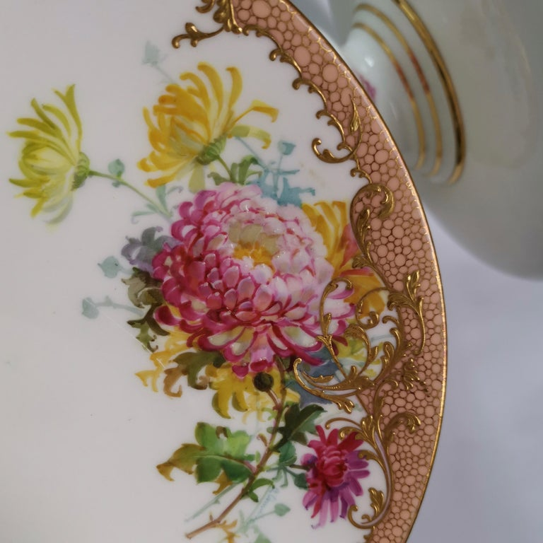 Minton Dessert Service, Signed by Anton Connelly, circa 1894 For Sale 8