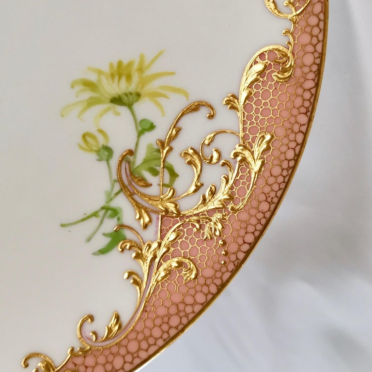 Minton Dessert Service, Signed by Anton Connelly, circa 1894 For Sale 10