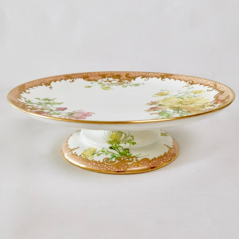 Minton Dessert Service, Signed by Anton Connelly, circa 1894 In Good Condition For Sale In London, GB