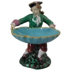 Minton Majolica Hogarth Boy Figure