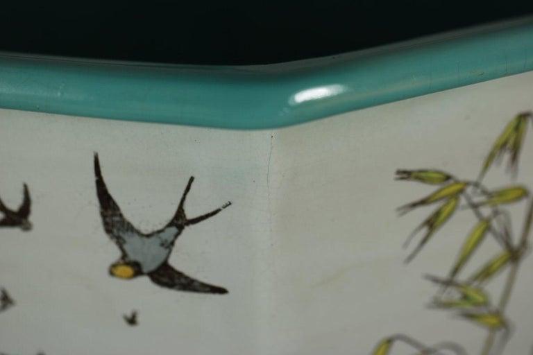 Minton Majolica 'Naturalist' jardinière by W.S Coleman For Sale 10