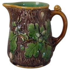 Minton Majolica Oak Jug or Pitcher