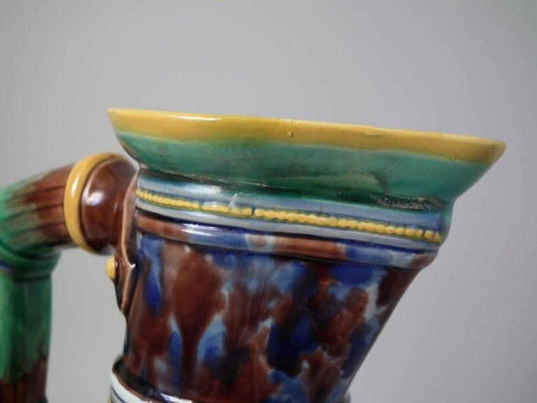 Minton Majolica Renaissance Revival Jug or Pitcher For Sale 1