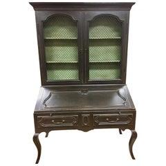 Minton Spidell Louis XV Secretary Desk Cabinet Credenza