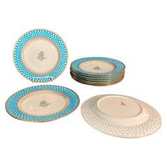 Mintons Presentation Plates for Thomas Goode & Co., Set of 10