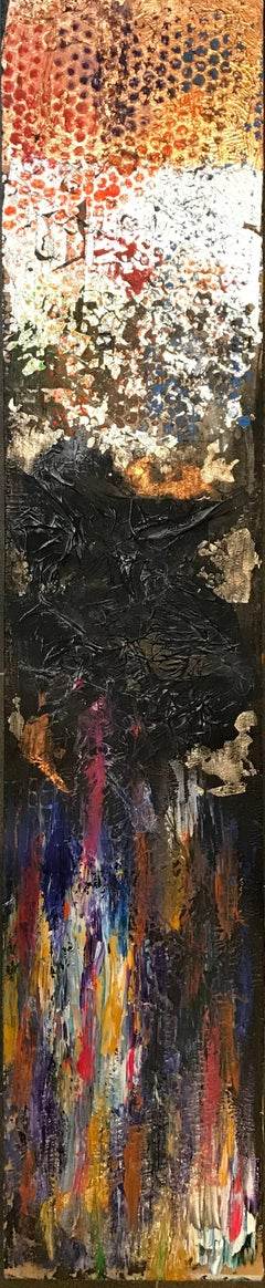 Fusion - Stunning Large British Abstract Collage Painting