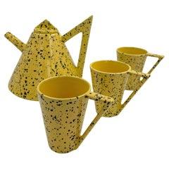 Mique Sweden Yellow Tea Set