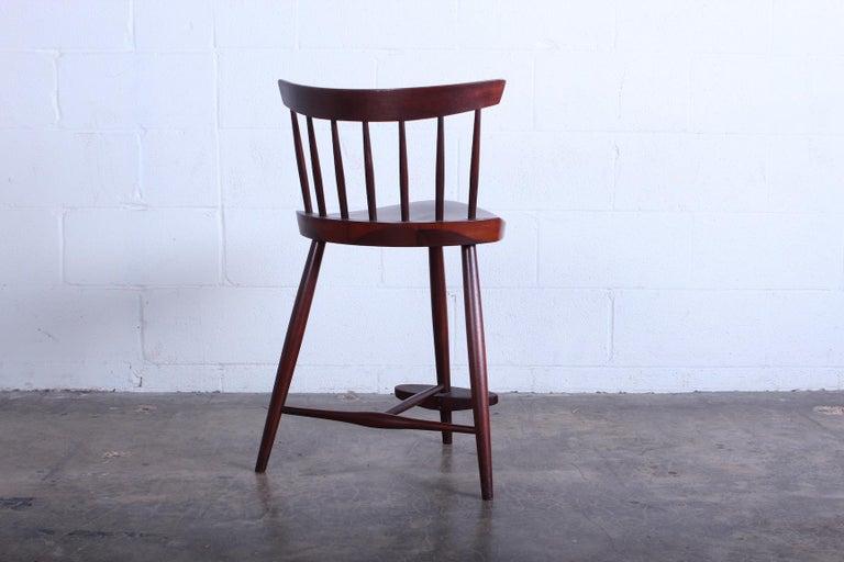 Mira Barstool by George Nakashima For Sale 5