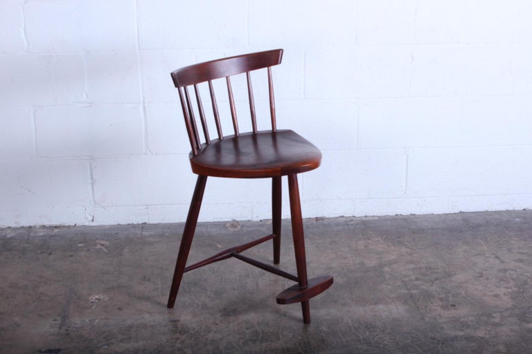 Mira Barstool by George Nakashima In Good Condition For Sale In Dallas, TX
