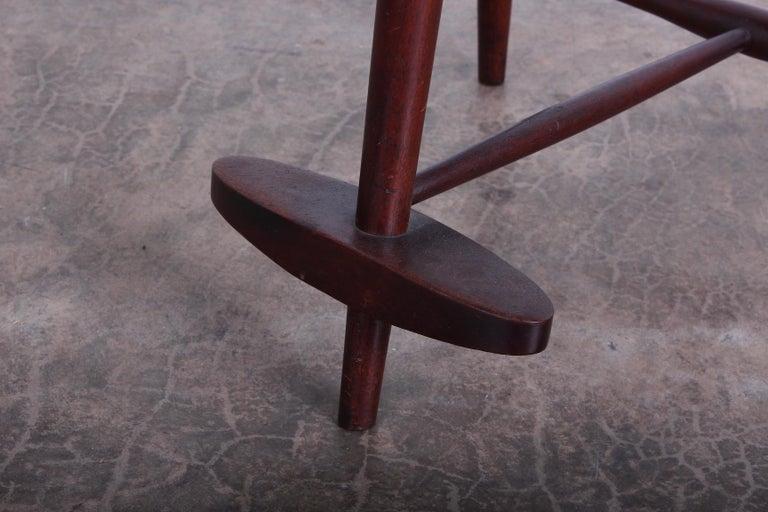 Mira Barstool by George Nakashima For Sale 3