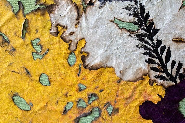 Beachwalk Dusk - Abstract Painting by Mira Lehr