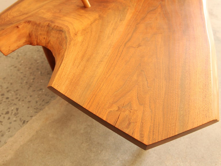 Mira Nakashima, Conoid Bench, circa 1992 In Excellent Condition For Sale In Brooklyn, NY
