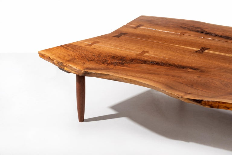Mira Nakashima Monumental Bench For Sale 11